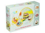 Genio Kids Modelína Kreativní sada Báječné dortíky