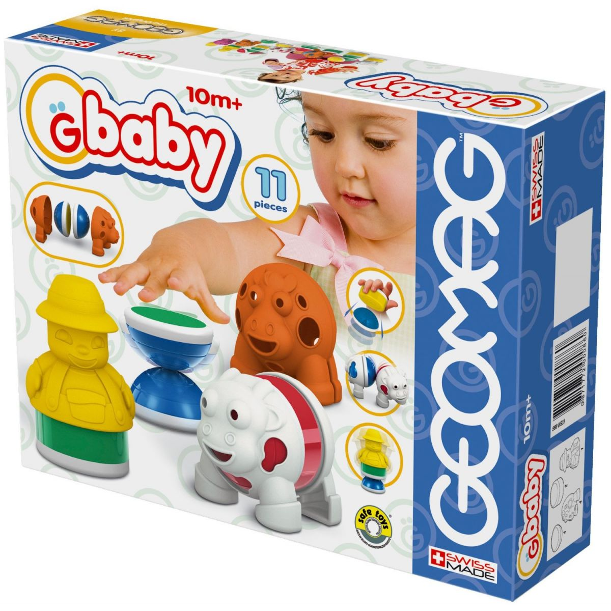 Geomag Baby farm medium 11 pcs