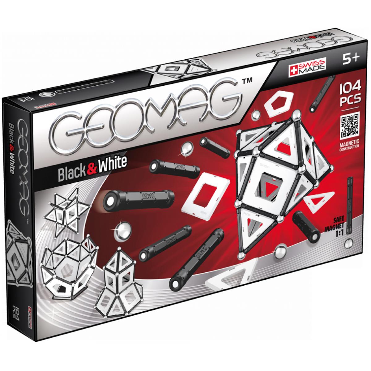 Geomag Black and White 104 dílků