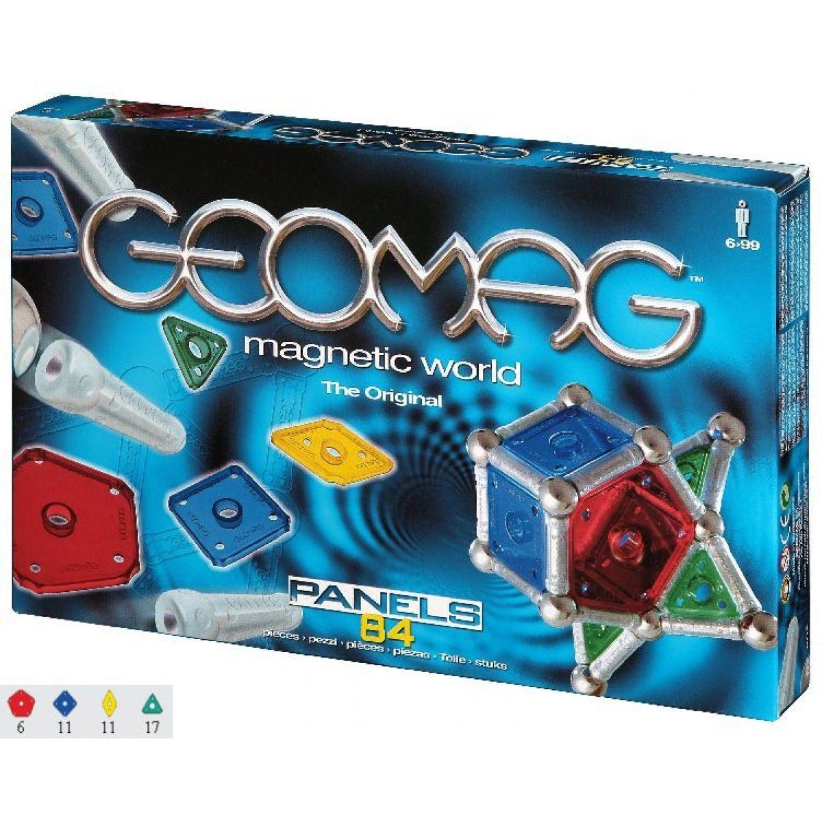 Geomag Geopanel 84 - geometrické tvary