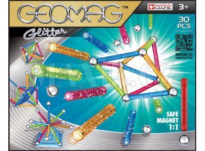 Geomag Glitter 30pcs - dlouhé tyčky