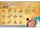 Geomag Glitter 44 pcs - Dlouhé tyčky 2