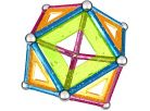 Geomag Glitter 68 pcs - Dlouhé tyčky 3