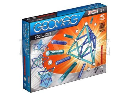 Geomag Kids color 40 pcs - Dlouhé tyčky