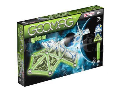 Geomag Kids panels glow 76 pcs - Dlouhé tyčky