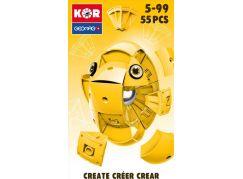 Geomag Kor Egg Yellow 55 dílů
