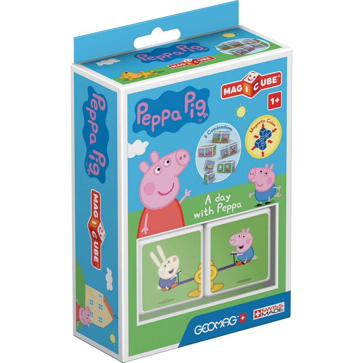 Geomag Magicube Peppa Pig A day Peppa