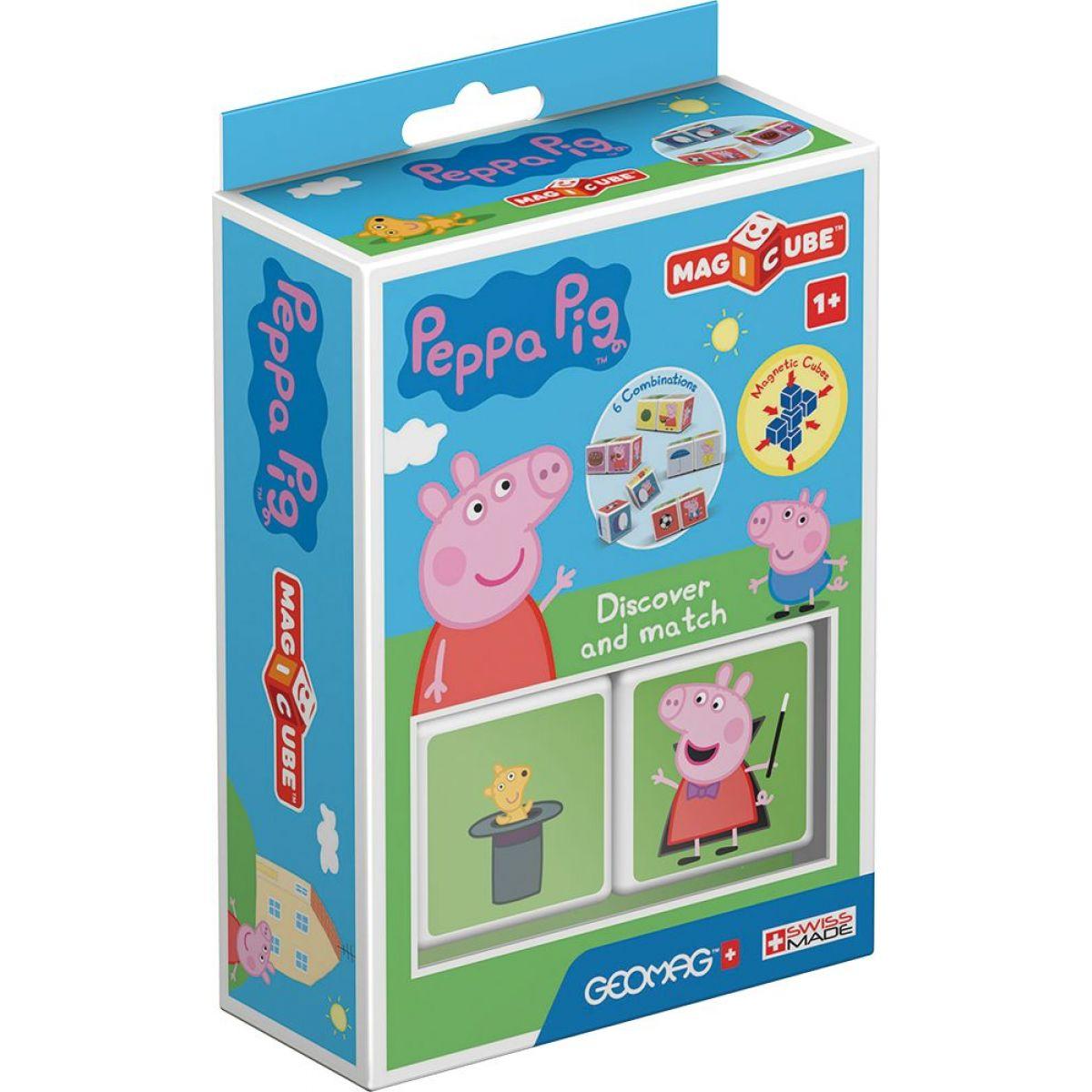 Geomag Magicube Peppa Pig Discover & Match