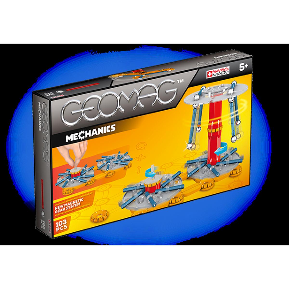Geomag Mechanics 103 dílků