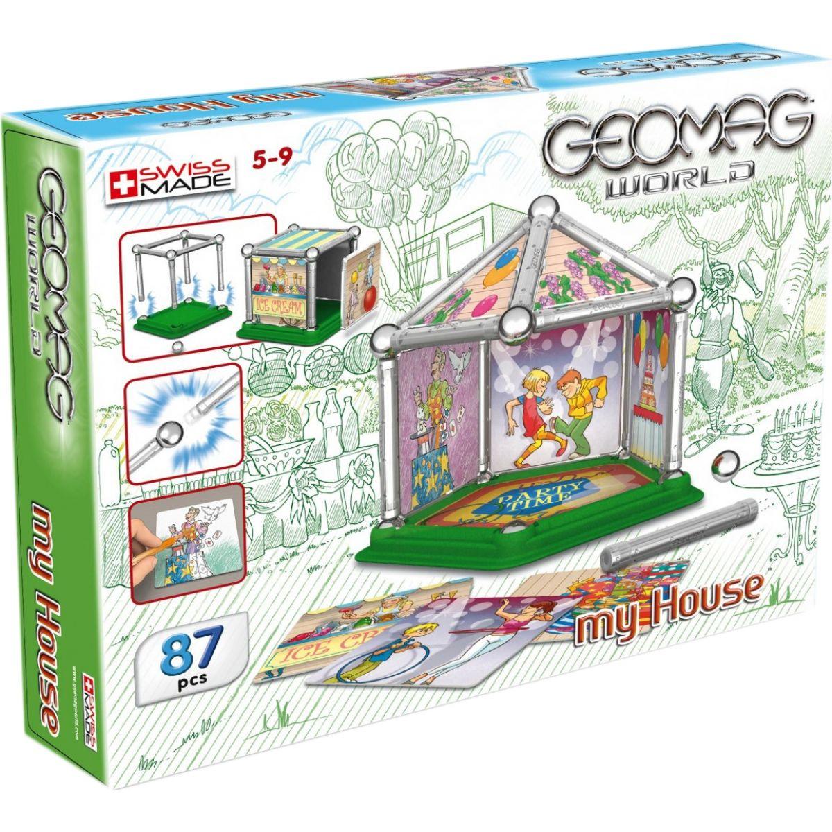 Geomag Mini house 87 dílů