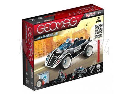 Geomag Wheels Fastcar 21 pcs - Dlouhé tyčky