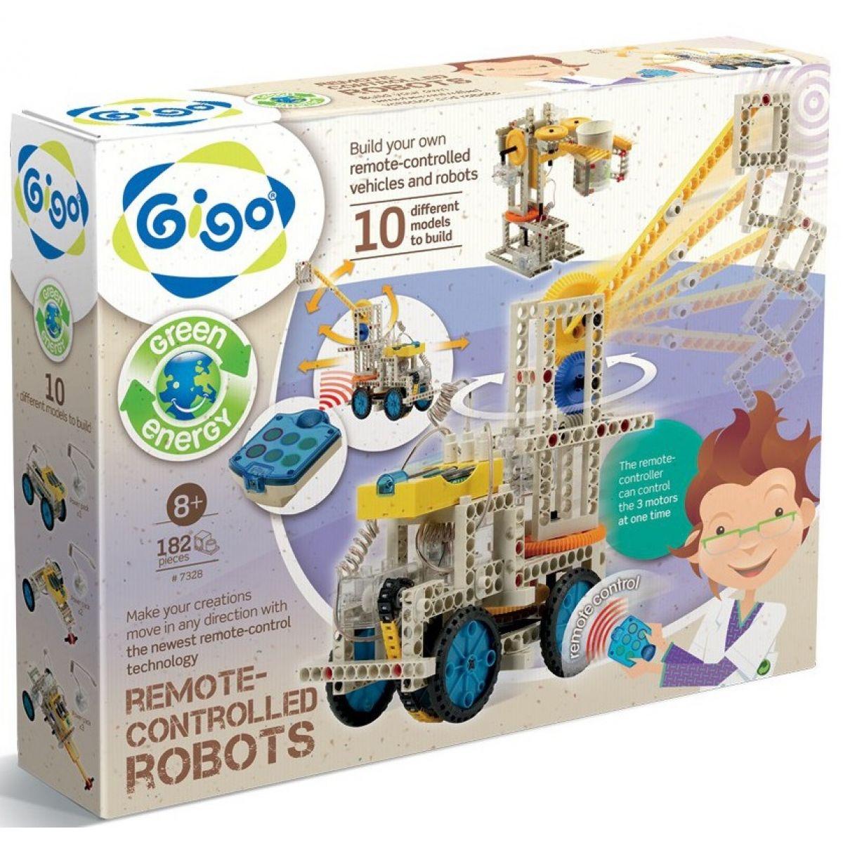 Gigo RC Stavebnice Remote controlled Robots