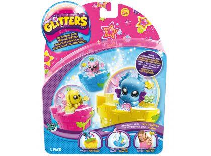 Glitters třpytivá sněžítka 3-pack - Poškozený obal - Fantazy sněžítka