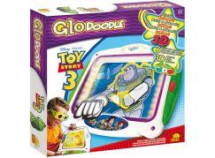 GloDOODLE Kreslící tabulka Toy Story malování světlem