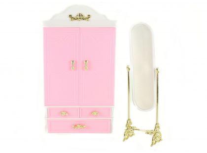 Glorie Šatní skříň a zrcadlo