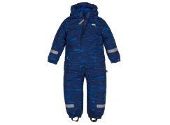 Gmini Kombinéza zimní kojenecká Bagel chlapec modrá 104