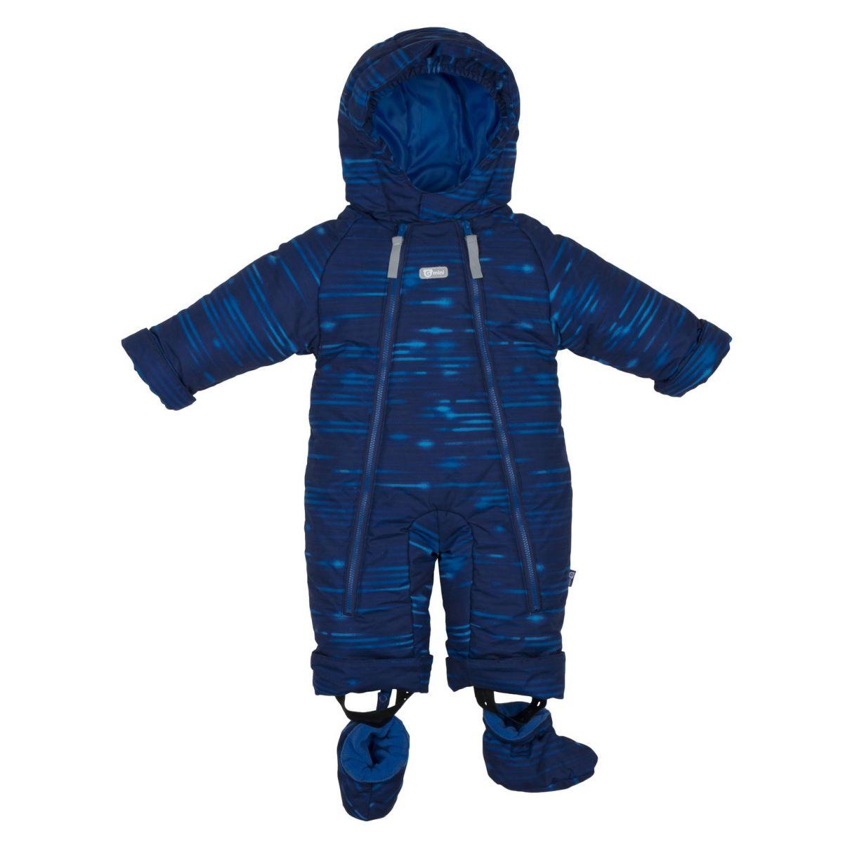 Gmini Kombinéza zimní kojenecká Bilblo chlapec modrá 68