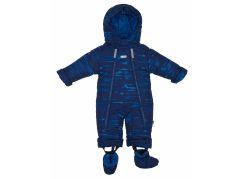 Gmini Kombinéza zimní kojenecká Bilblo chlapec modrá 80