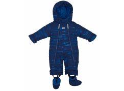 Gmini Kombinéza zimní kojenecká Bilblo chlapec modrá 86