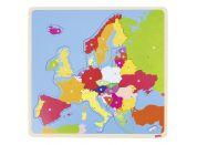 Goki Puzzle na desce Evropa
