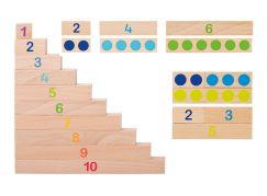 Goki Učíme se počítat destičky 36 dílů