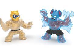 Goo Jit Zu figurky Pantaro vs. Bat dvojbalení 12 cm