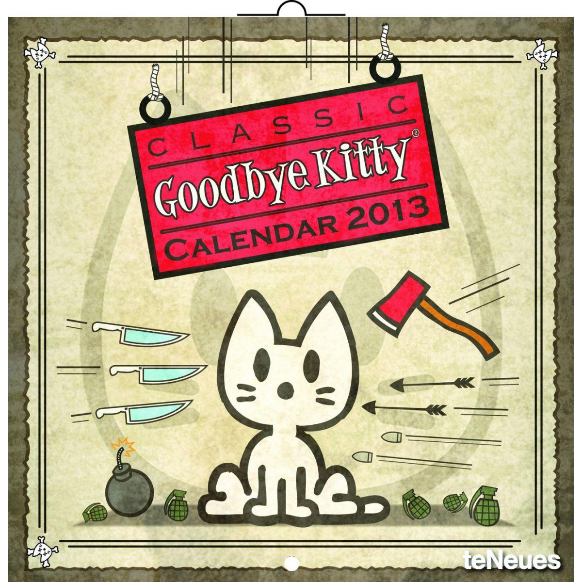 Goodbye Kitty, poznámkový kalendář 2013, 30 x 60 cm
