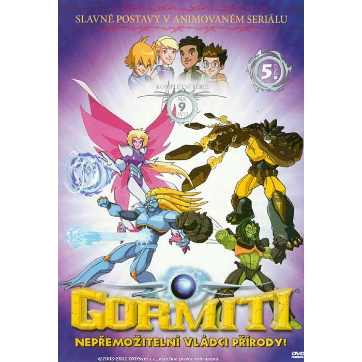 Gormiti 5 DVD Slim box
