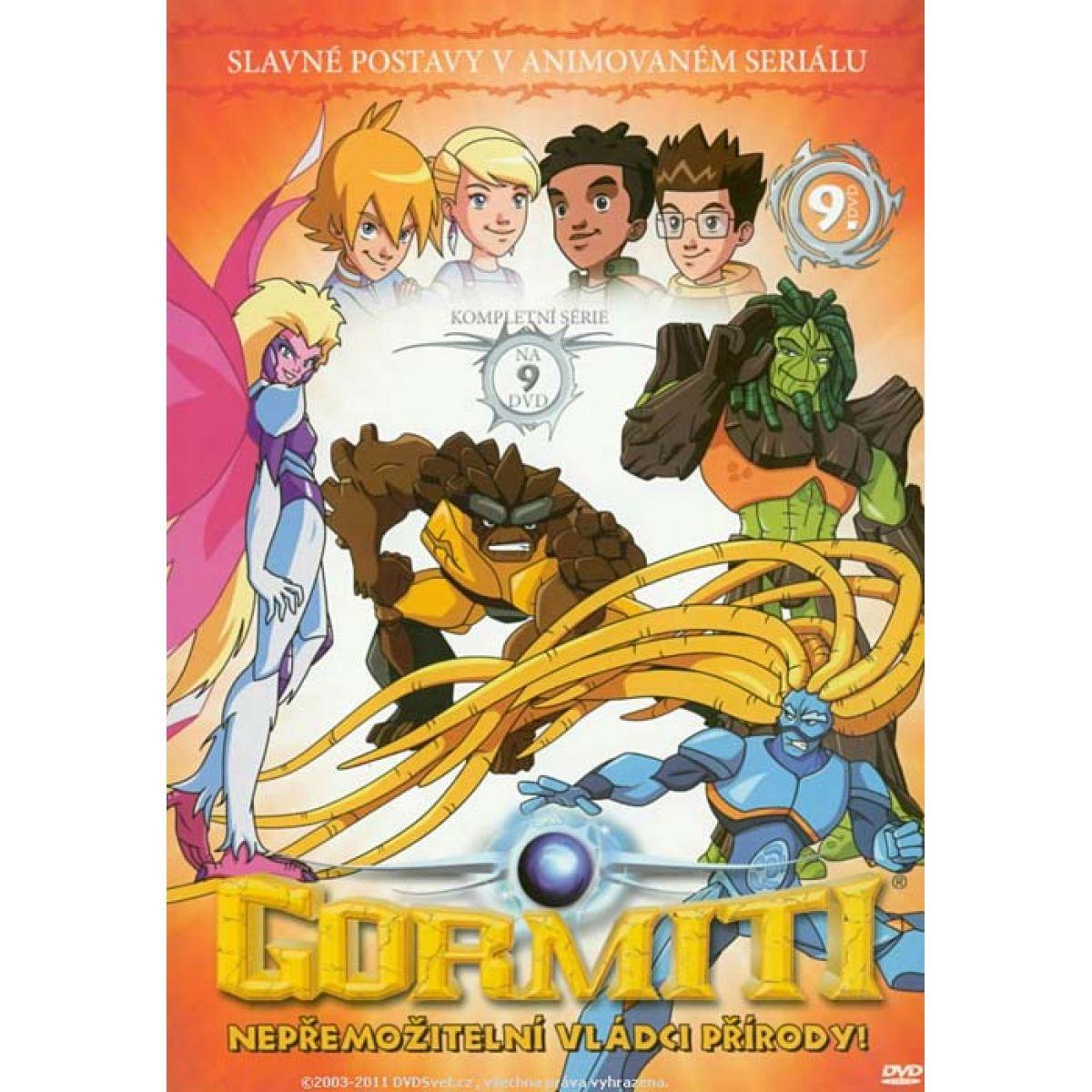 Gormiti 9 DVD Slim box
