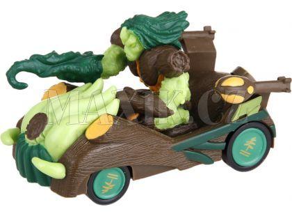 Gormiti Auto s figurkou - Pán Lesa