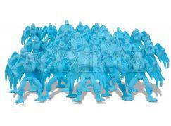 Gormiti Cartoon Neorganic 4 cm mini bojovníci - Modrá světlá