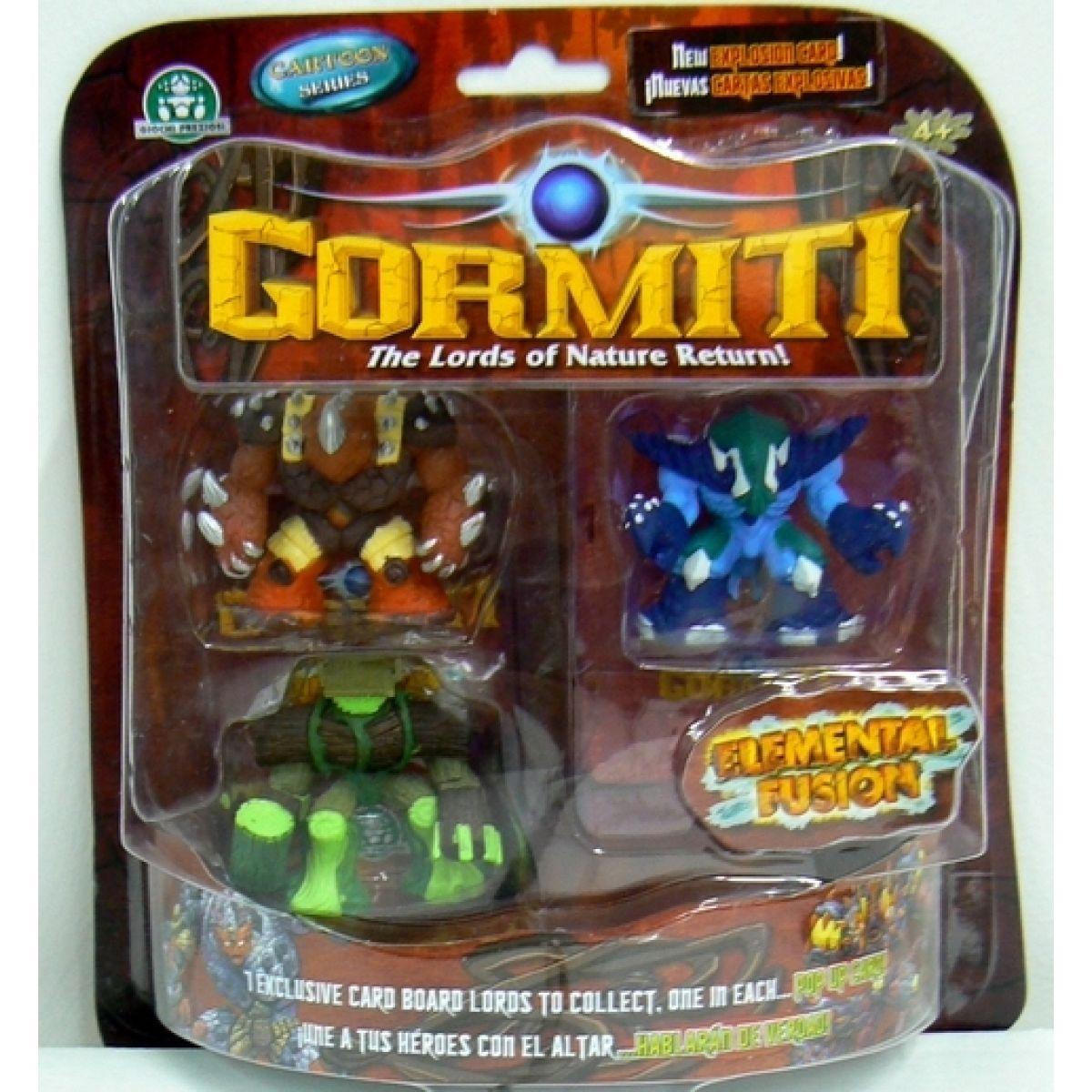 Gormiti Elemental Fusion 3 figurky