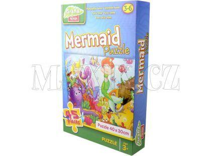 Grafix Puzzle 45 dílků - Mořské panny