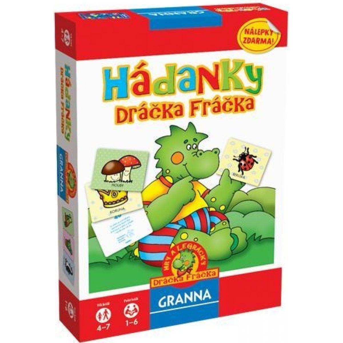 Granna Hádanky Dráčka Fráčka 02179