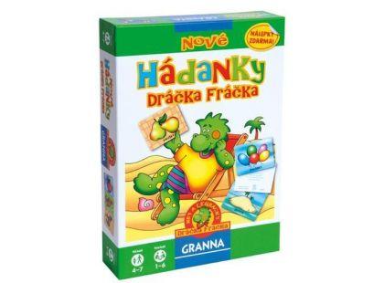 Granna Nové Hádanky Dráčka Fráčka 2180