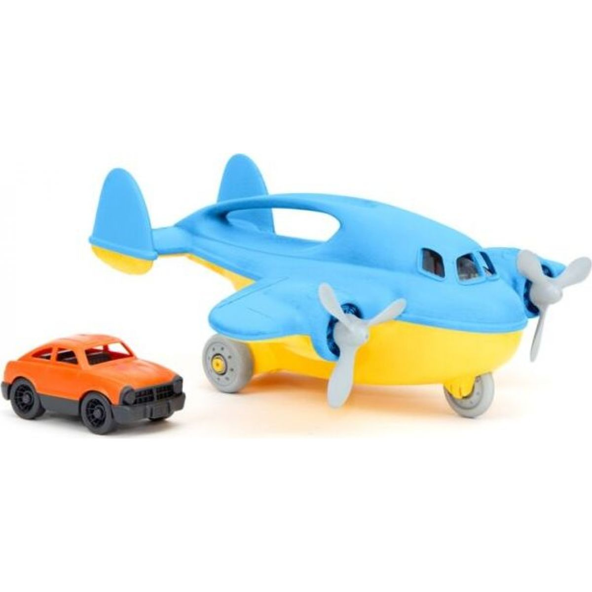 Green Toys Nákladní letadlo s autíčkem