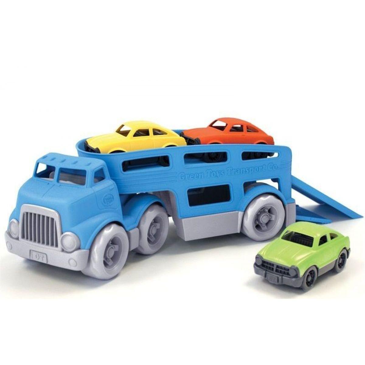 Green Toys Tahač s auty