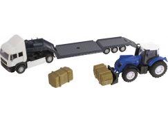 Halsall Přeprava traktorů - Tahač bílý