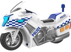 Halsall Teamsterz policejní motorka se zvukem a světlem