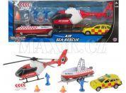 Halsall Teamsterz Záchranáři s vrtulníkem a člunem