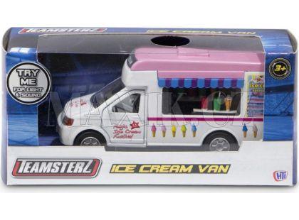 Halsall Teamsterz Zmrzlinové auto hrací - Růžová