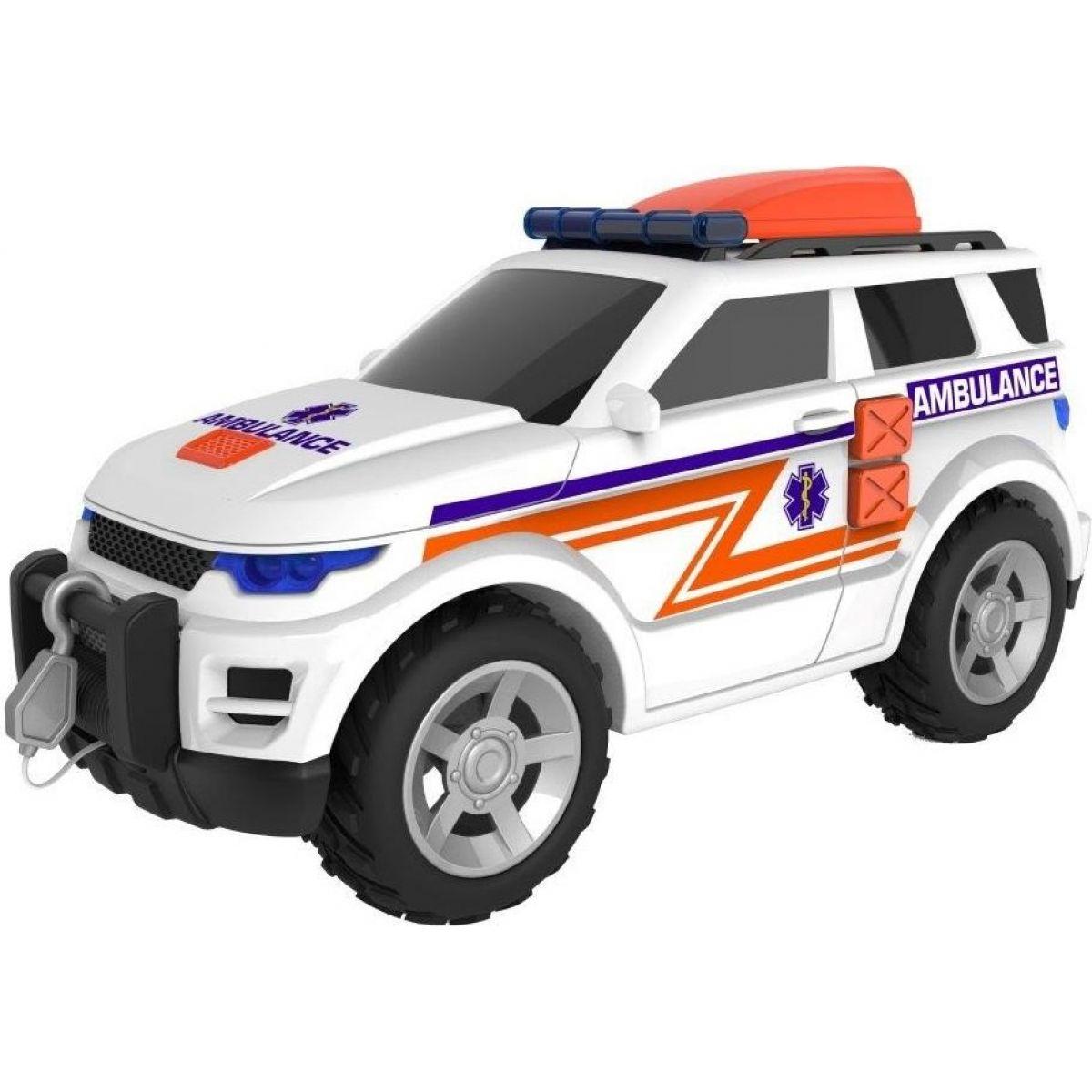 Halsall Temasterz záchranný jeep se zvukem a světlem