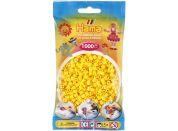 Hama H207-03 Midi korálky žluté 1000ks