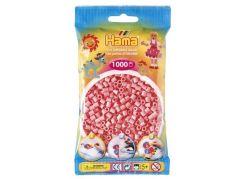 Hama H207-06 Růžové korálky 1000ks
