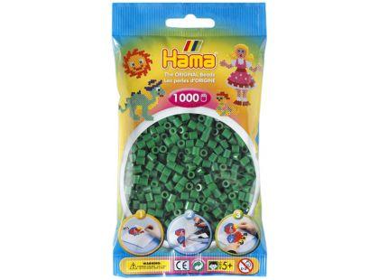Hama H207-10 Midi korálky zelené 1000ks