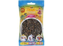 Hama H207-12 Hnědé korálky 1000ks