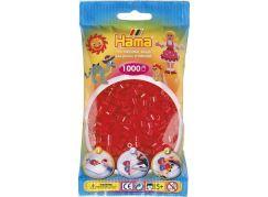 Hama H207-13 Midi Průhledné červené korálky 1000 ks