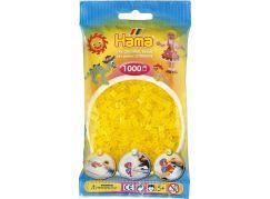 Hama H207-14 Midi Průhledné žluté korálky 1000 ks
