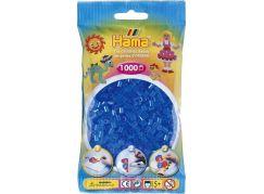 Hama H207-15 Midi Průhledné modré korálky 1000 ks
