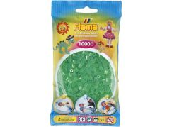 Hama H207-16 Midi Průhledné zelené korálky 1000 ks